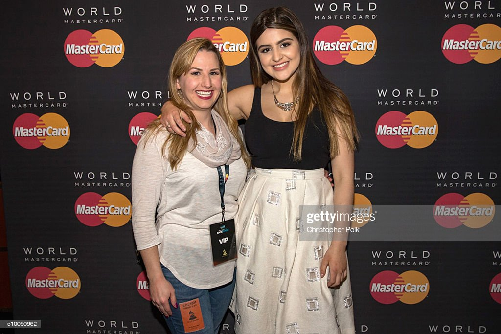 Actress <a gi-track='captionPersonalityLinkClicked' href=/galleries/search?phrase=Lauren+Giraldo&family=editorial&specificpeople=11610022 ng-click='$event.stopPropagation()'>Lauren Giraldo</a> poses with TJX Rewards (R) Platinum MasterCard Card holders at the MasterCard Lounge at Westwood One Backstage on February 13, 2016 in Los Angeles, California.