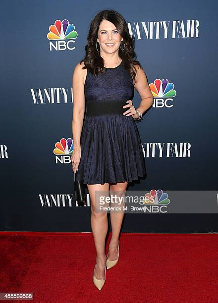 Actress Lauren Graham attends NBC Vanity Fair's 20142015 TV Season Event at HYDE Sunset Kitchen Cocktails on September 16 2014 in West Hollywood...