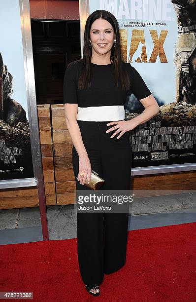 Actress Lauren Graham attends the premiere of 'MAX' at the Egyptian Theatre on June 23 2015 in Hollywood California
