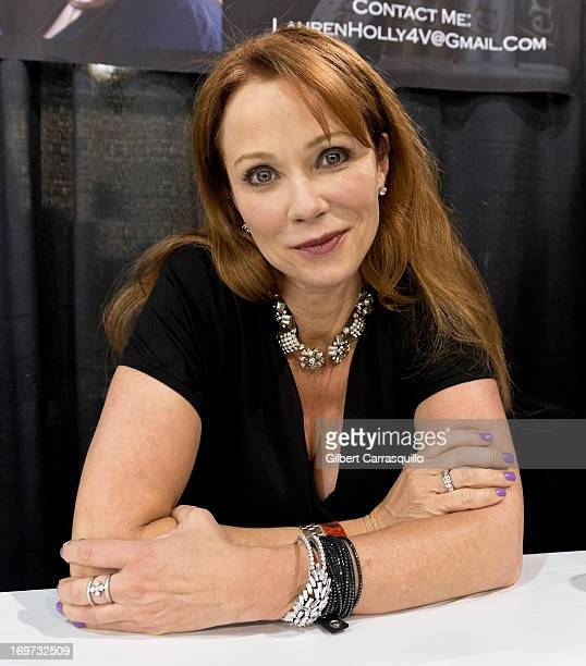 Actress Lauren Holly attends Philadelphia Comic Con 2013 Day 2 at the Pennsylvania Convention Center on May 31 2013 in Philadelphia Pennsylvania