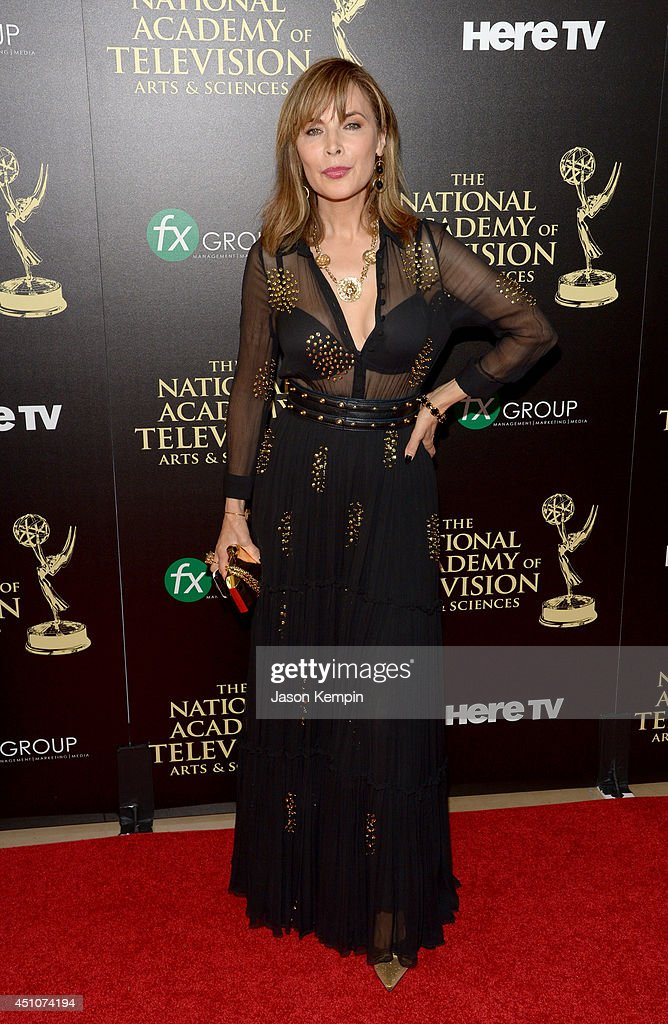 Actress <a gi-track='captionPersonalityLinkClicked' href=/galleries/search?phrase=Lauren+Koslow&family=editorial&specificpeople=665350 ng-click='$event.stopPropagation()'>Lauren Koslow</a> attends The 41st Annual Daytime Emmy Awards at The Beverly Hilton Hotel on June 22, 2014 in Beverly Hills, California.