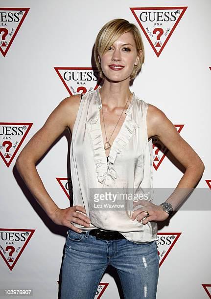 Actress Lauren Lee Smith attends Guess Portrait Studio during the 2010 Toronto International Film Festival at the Hyatt Regency on September 10 2010...