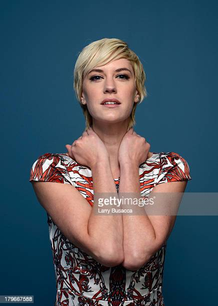 Actress Lauren Lee Smith of 'Cinemanovels' poses at the Guess Portrait Studio during 2013 Toronto International Film Festival on September 6 2013 in...