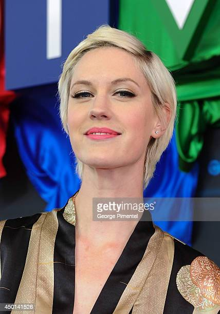 Actress Lauren Lee Smith of The Listener attends the CTV 2014 Upfront at Sony Centre for the Performing Arts on June 5 2014 in Toronto CanadaÊ