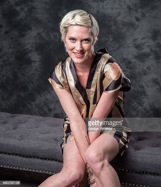 Actress Lauren Lee Smith of The Listener poses for a portrait during CTV 2014 Upfront at Sony Centre for the Performing Arts on June 5 2014 in...