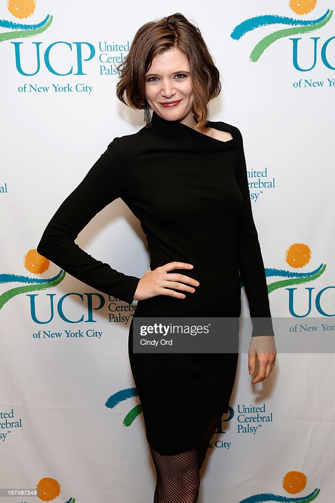 Actress Lauren LoGiudice attends the Santa Project Party benefiting United Cerebral Palsy Of New York City at Bar Baresco on December 3, 2012 in New York City.