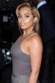 Actress Lauren London arrives at the Los Angeles premiere of 'Baggage Claim' on September 25 2013 at Regal Cinemas LA Live in Los Angeles California