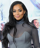 Actress Lauren London arrives at the premiere of Lionsgate's 'The Perfect Match' at ArcLight Hollywood on March 7 2016 in Hollywood California