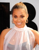 Actress Lauren London attends the 2013 BET Awards at Nokia Theatre LA Live on June 30 2013 in Los Angeles California