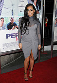 Actress Lauren London attends the premiere of 'The Perfect Match' at ArcLight Hollywood on March 7 2016 in Hollywood California