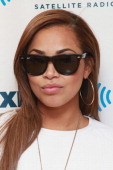 Actress Lauren London visits the SiriusXM Studios on March 26 2013 in New York City