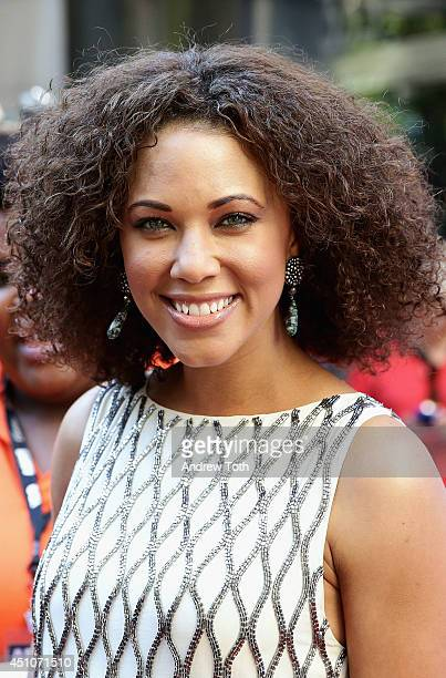 Actress Lauren Macklin attends 'Da Sweet Blood Of Jesus' world premiere during the 2014 American Black Film Festival at Metropolitan Pavilion on June...