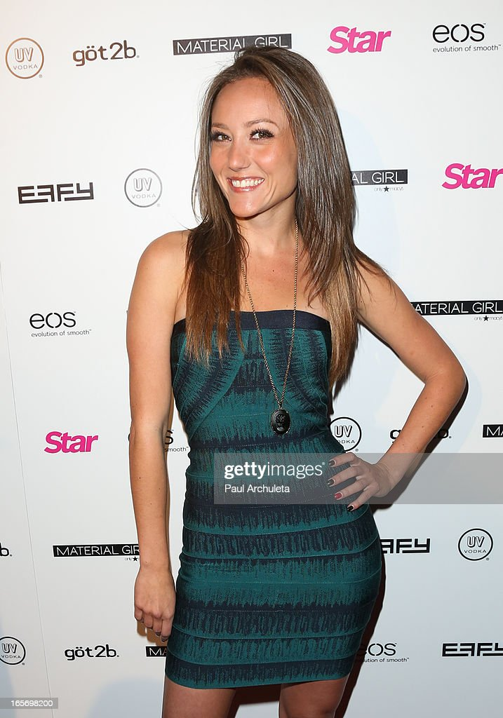Actress Lauren Mayhew attends Star Magazine's 'Hollywood Rocks' party at Playhouse Hollywood on April 4, 2013 in Los Angeles, California.
