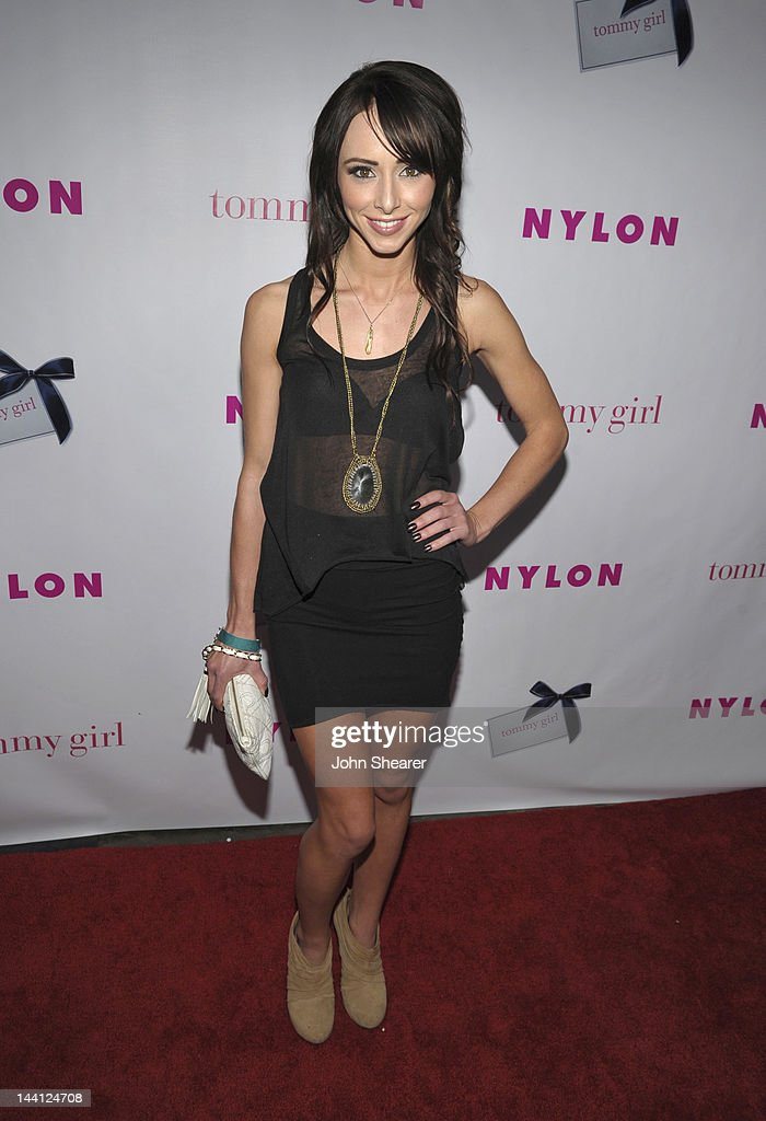 Actress <a gi-track='captionPersonalityLinkClicked' href=/galleries/search?phrase=Lauren+McKnight&family=editorial&specificpeople=5409280 ng-click='$event.stopPropagation()'>Lauren McKnight</a> attends NYLON Magazine And Tommy Girl Celebrate The Annual May Young Hollywood Issue - Party at Hollywood Roosevelt Hotel on May 9, 2012 in Hollywood, California.