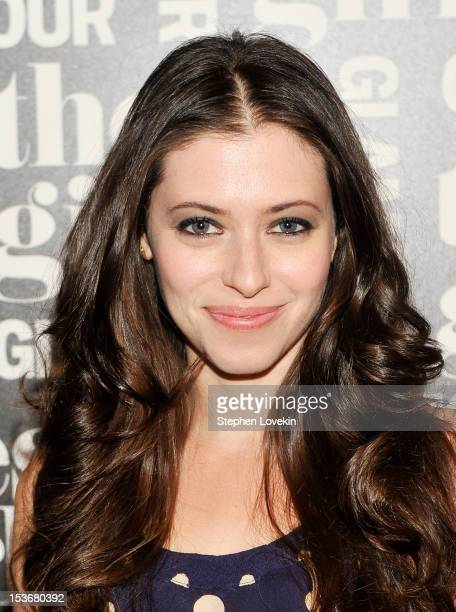 Actress Lauren Miller attends Glamour Presents 'These Girls' at Joe's Pub on October 8 2012 in New York City