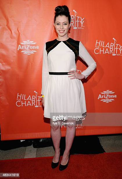 Actress Lauren Miller attends Hilarity for Charity NYC Cocktail Party at The Jane Hotel on April 8 2014 in New York City