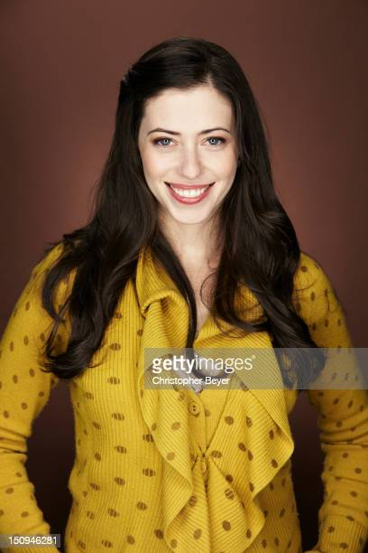 Actress Lauren Miller is photographed at the Sundance Film Festival for Entertainment Weekly Magazine on January 22 2012 in Park City Utah