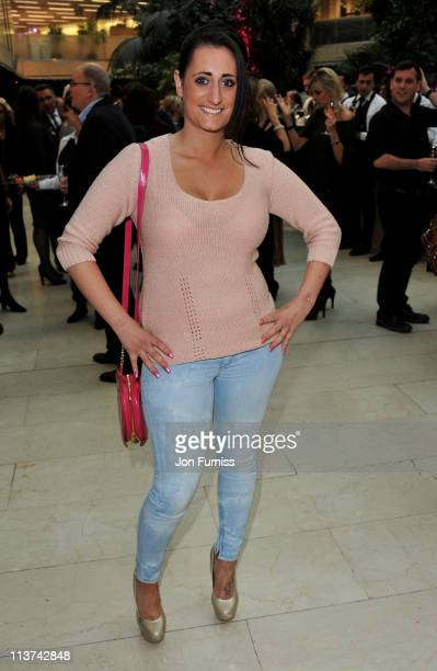 Actress Lauren Socha attends the nominees party for 'The Philips British Academy Television and British Academy Television Craft Awards' at Coutts...