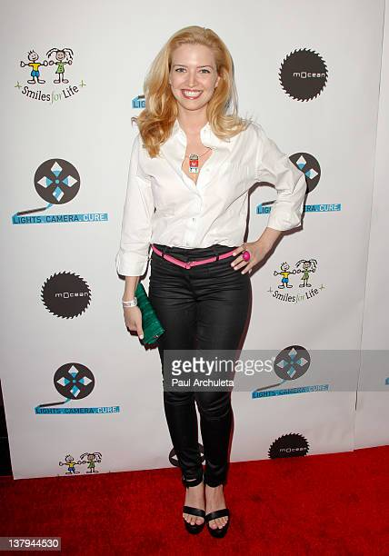 Actress Lauren Storm attends the 'Lights Camera Cure 2012 Hollywood DanceAThon' at Avalon on January 29 2012 in Hollywood California