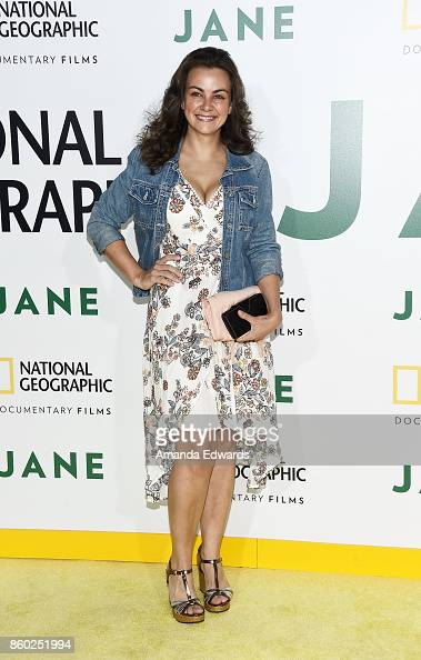 Actress Lauren White arrives at...