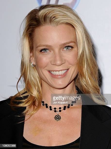 Actress Laurie Holden arrives at the 2011 AFI Awards at The Four Seasons Hotel on January 14 2011 in Beverly Hills California