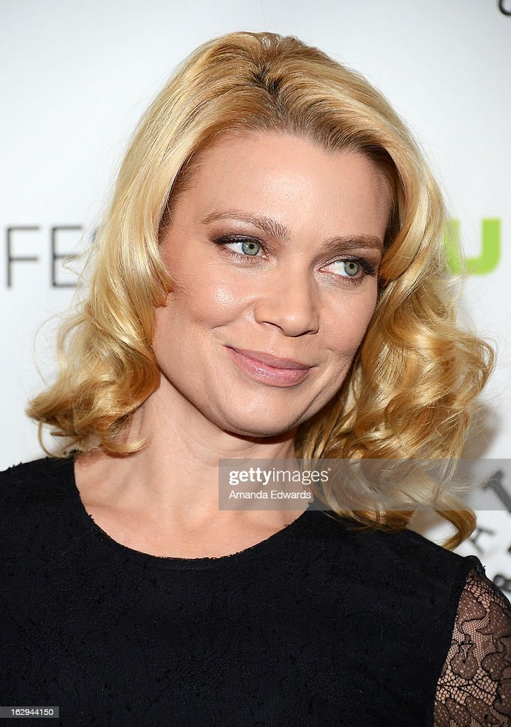 Actress Laurie Holden arrives at the 30th Annual PaleyFest: The William S. Paley Television Festival featuring 'The Walking Dead' at Saban Theatre on March 1, 2013 in Beverly Hills, California.
