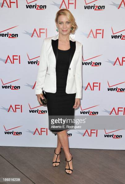 Actress Laurie Holden attends the 13th Annual AFI Awards at Four Seasons Los Angeles at Beverly Hills on January 11 2013 in Beverly Hills California