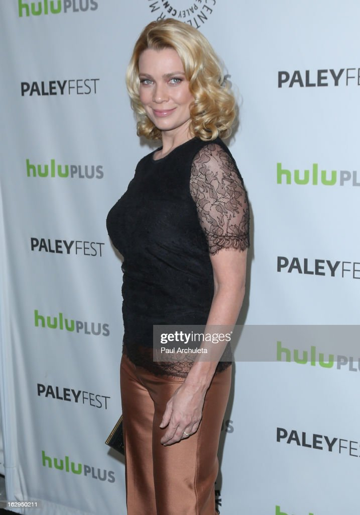 Actress Laurie Holden attends the 30th Annual PaleyFest featuring the cast of 'The Walking Dead' at Saban Theatre on March 1, 2013 in Beverly Hills, California.