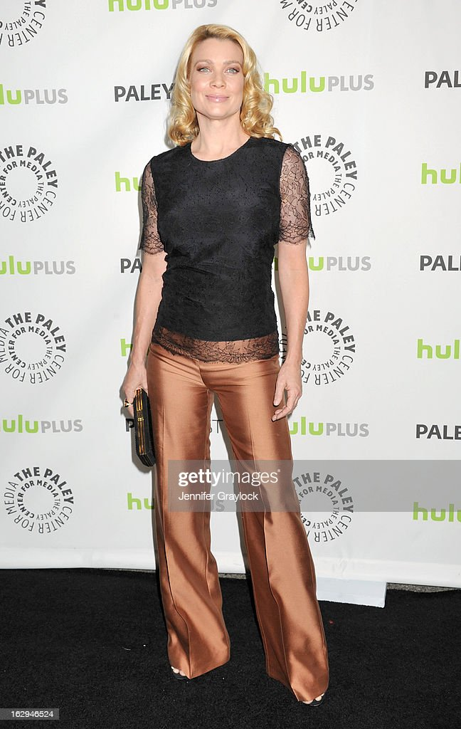 Actress Laurie Holden attends the 30th Annual PaleyFest: The William S. Paley Television Festival honors 'The Walking Dead' held at the Saban Theatre on March 1, 2013 in Beverly Hills, California.