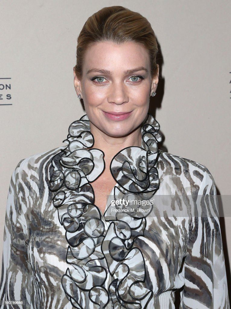 Actress Laurie Holden attends The Academy Of Television Arts & Sciences Presents An Evening With 'The Walking Dead' at the Leonard H. Goldenson Theatre on February 5, 2013 in North Hollywood, California.