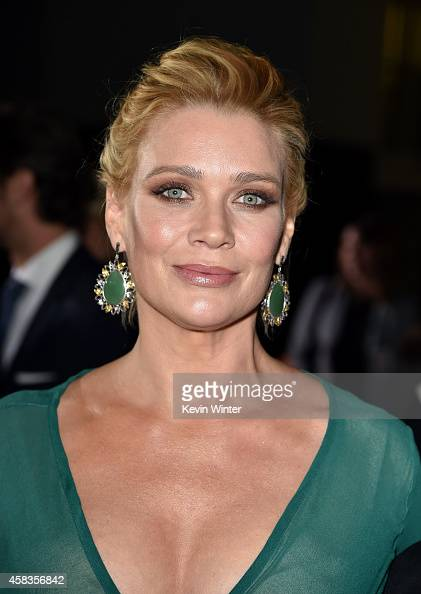 Actress Laurie Holden attends the premiere of Universal Pictures and Red Granite Pictures' 'Dumb And Dumber To' on November 3 2014 in Westwood...