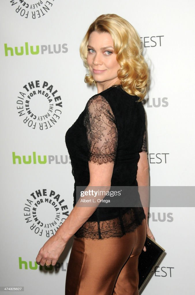Actress <a gi-track='captionPersonalityLinkClicked' href=/galleries/search?phrase=Laurie+Holden&family=editorial&specificpeople=678388 ng-click='$event.stopPropagation()'>Laurie Holden</a> participates in The Paley Center For Media's PaleyFest 2013 Honoring 'The Walking Dead' held at The Saban Theater on March 1, 2013 in Beverly Hills, California.