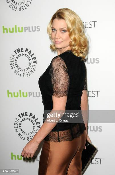 Actress Laurie Holden participates in The Paley Center For Media's PaleyFest 2013 Honoring 'The Walking Dead' held at The Saban Theater on March 1...