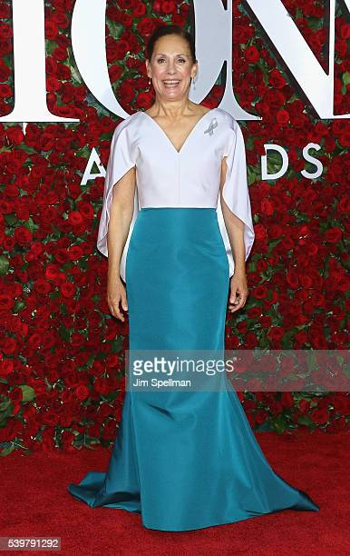 Actress Laurie Metcalf attends the 70th Annual Tony Awards at Beacon Theatre on June 12 2016 in New York City