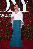 Actress Laurie Metcalf attends the 70th Annual Tony Awards at The Beacon Theatre on June 12 2016 in New York City