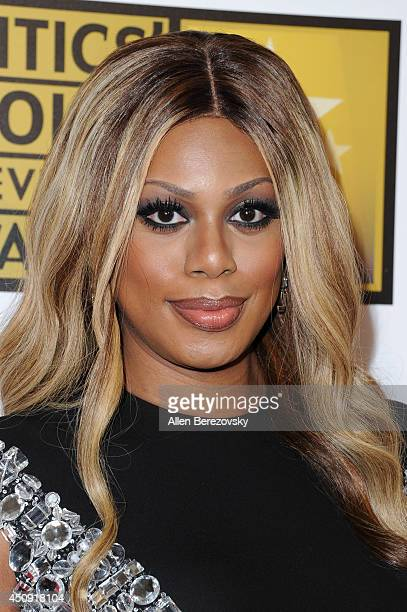 Actress Laverne Cox arrives at the 4th Annual Critics' Choice Television Awards at The Beverly Hilton Hotel on June 19 2014 in Beverly Hills...