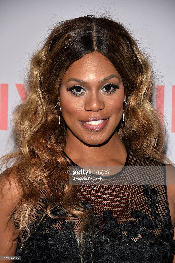 Actress Laverne Cox arrives at the Netflix 'Orange Is The New Black' For Your Consideration Screening and Q&A at the Director's Guild Of America on May 20, 2015 in Los Angeles, California.