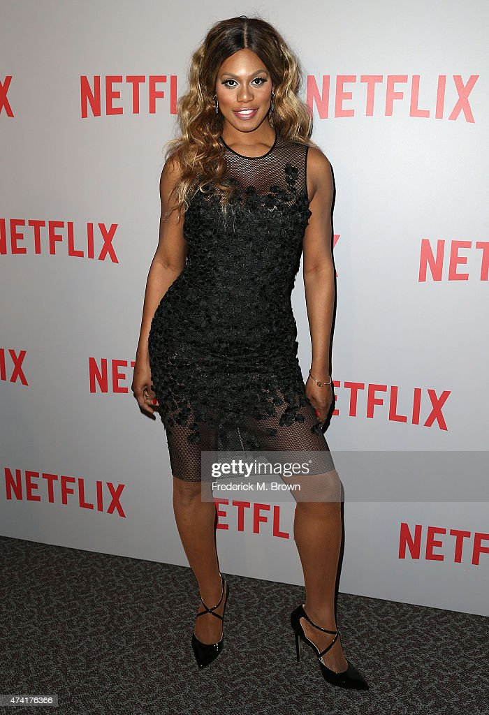 Actress Laverne Cox attends Netflix's 'Orange Is The New Black' For Your Consideration Screening and Q & A at the Directors Guild Of America on May 20, 2015 in Los Angeles, California.
