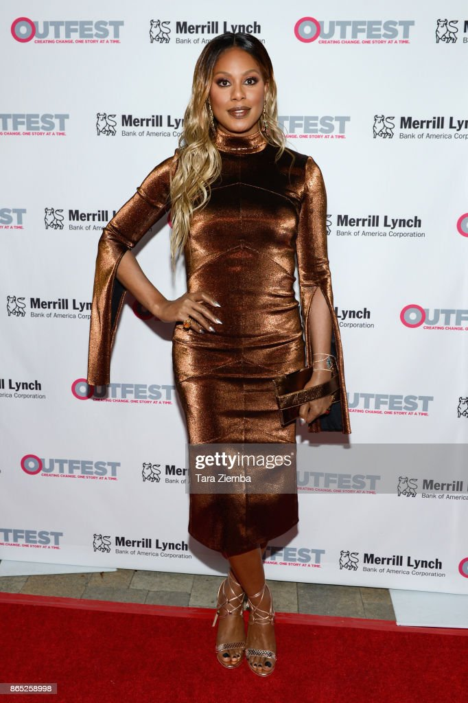 Actress Laverne Cox attends the 13th Annual Outfest Legacy Awards at Vibiana on October 22, 2017 in Los Angeles, California.