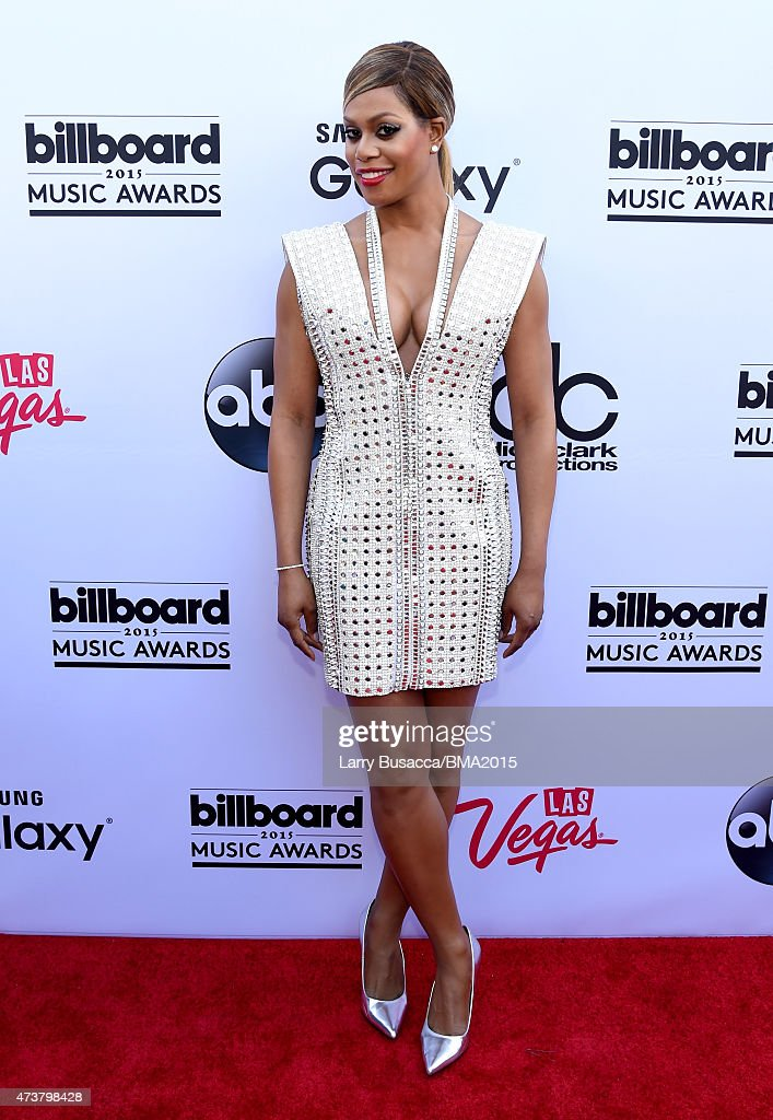 Actress Laverne Cox attends the 2015 Billboard Music Awards at MGM Grand Garden Arena on May 17 2015 in Las Vegas Nevada
