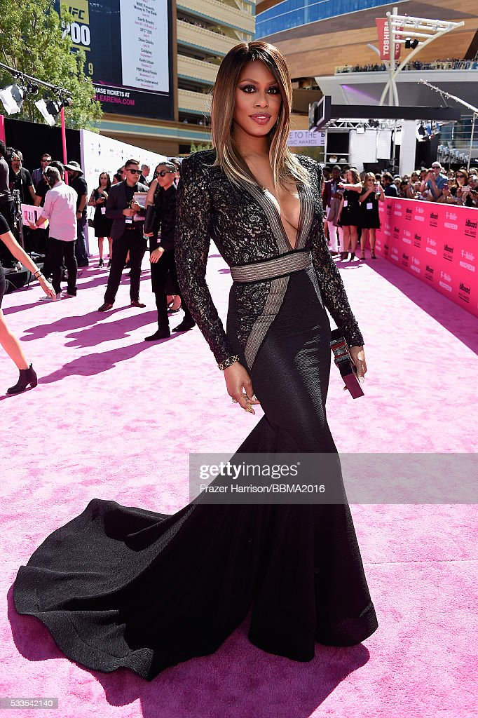 actress-laverne-cox-attends-the-2016-billboard-music-awards-at-arena-picture-id533542140