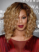 Actress Laverne Cox attends the 2016 Fragrance Foundation Awards presented by Hearst Magazines on June 7 2016 in New York City