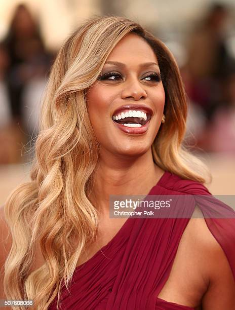 Actress Laverne Cox attends The 22nd Annual Screen Actors Guild Awards at The Shrine Auditorium on January 30 2016 in Los Angeles California 25650_018