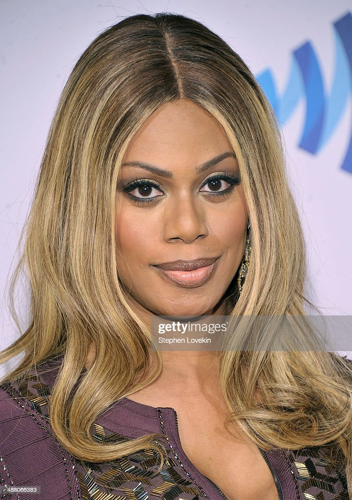 Actress <a gi-track='captionPersonalityLinkClicked' href=/galleries/search?phrase=Laverne+Cox&family=editorial&specificpeople=5848606 ng-click='$event.stopPropagation()'>Laverne Cox</a> attends the 25th Annual GLAAD Media Awards on May 3, 2014 in New York City.