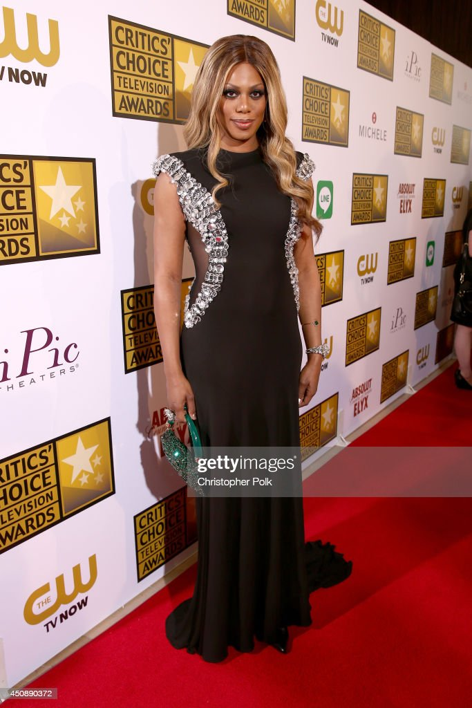 Actress <a gi-track='captionPersonalityLinkClicked' href=/galleries/search?phrase=Laverne+Cox&family=editorial&specificpeople=5848606 ng-click='$event.stopPropagation()'>Laverne Cox</a> attends the 4th Annual Critics' Choice Television Awards at The Beverly Hilton Hotel on June 19, 2014 in Beverly Hills, California.