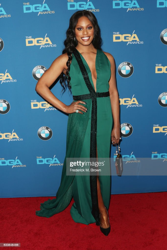actress-laverne-cox-attends-the-69th-annual-directors-guild-of-at-picture-id633848488
