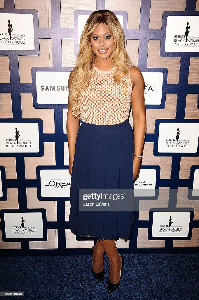 Actress Laverne Cox attends the 8th annual ESSENCE Black Women In Hollywood luncheon at the Beverly Wilshire Four Seasons Hotel on February 19, 2015 in Beverly Hills, California.