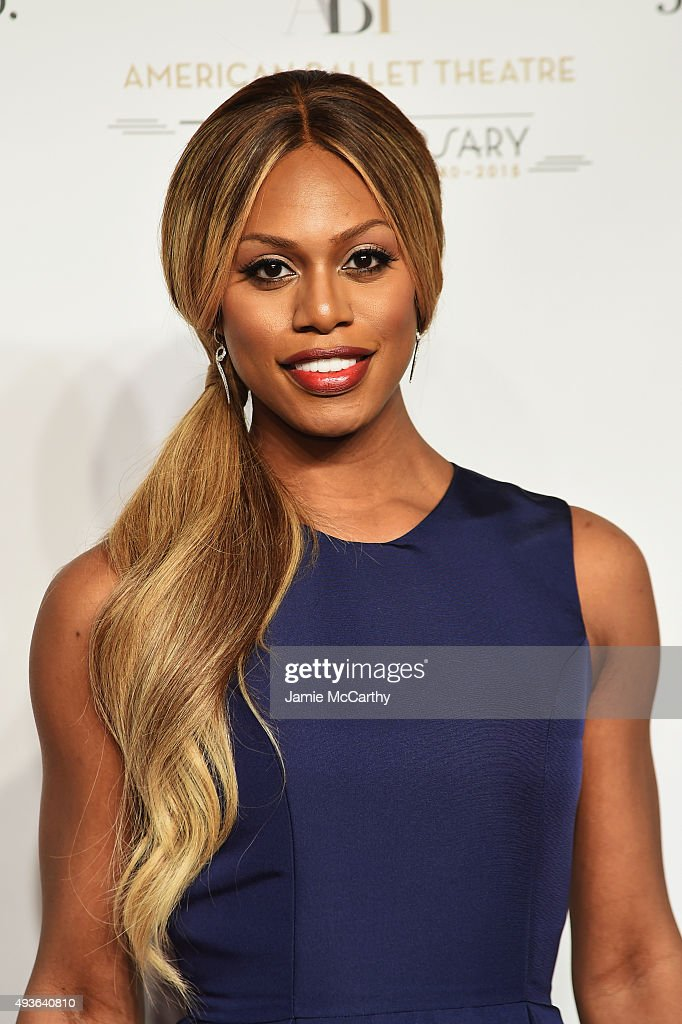 Actress Laverne Cox attends the American Ballet 75th Anniversary Fall Gala at David H. Koch Theater at Lincoln Center on October 21, 2015 in New York City.