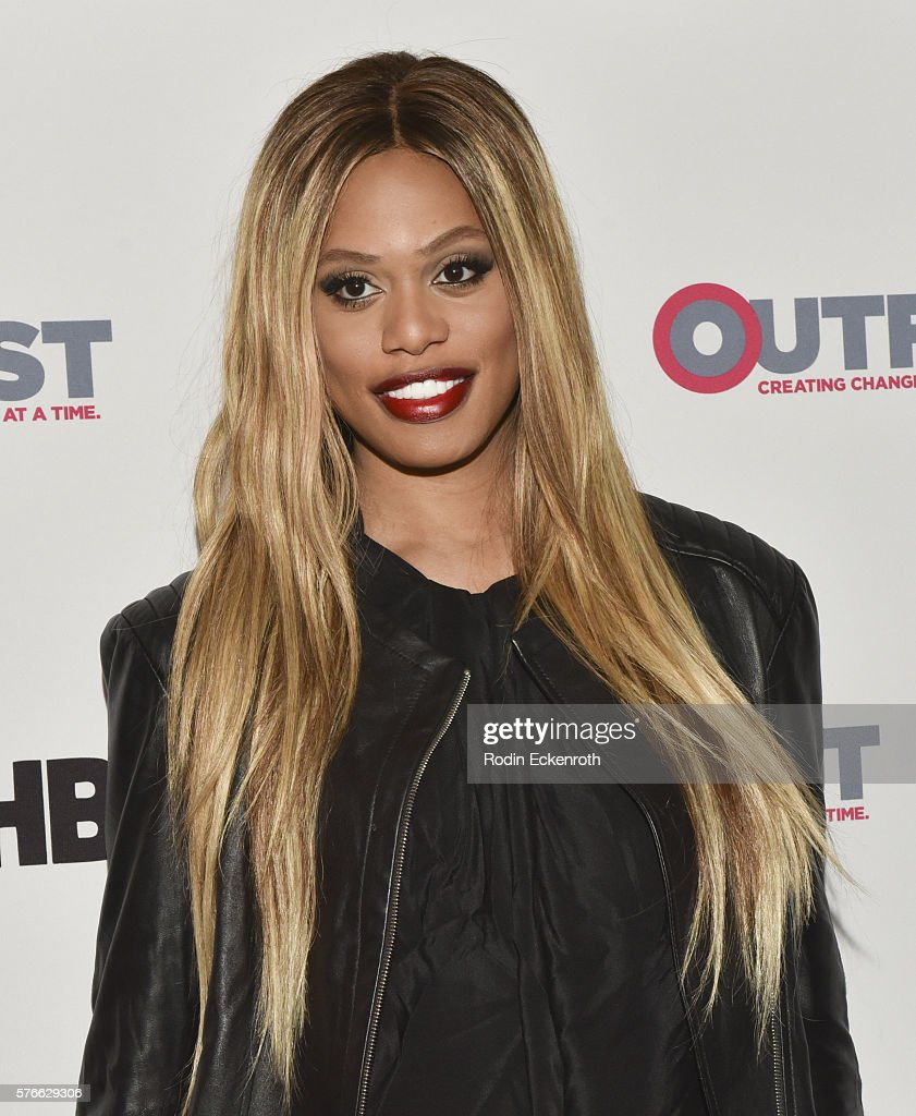 Actress Laverne Cox attends the Outfest 2016 screening of 'The Trans List' at Director's Guild Of America on July 16 2016 in West Hollywood California