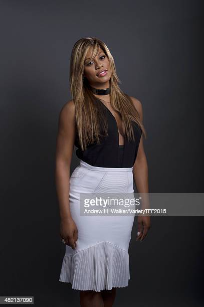 Actress Laverne Cox is photographed for Variety at the Tribeca Film Festival on April 20 2015 in New York City CREDIT MUST READ Andrew H...